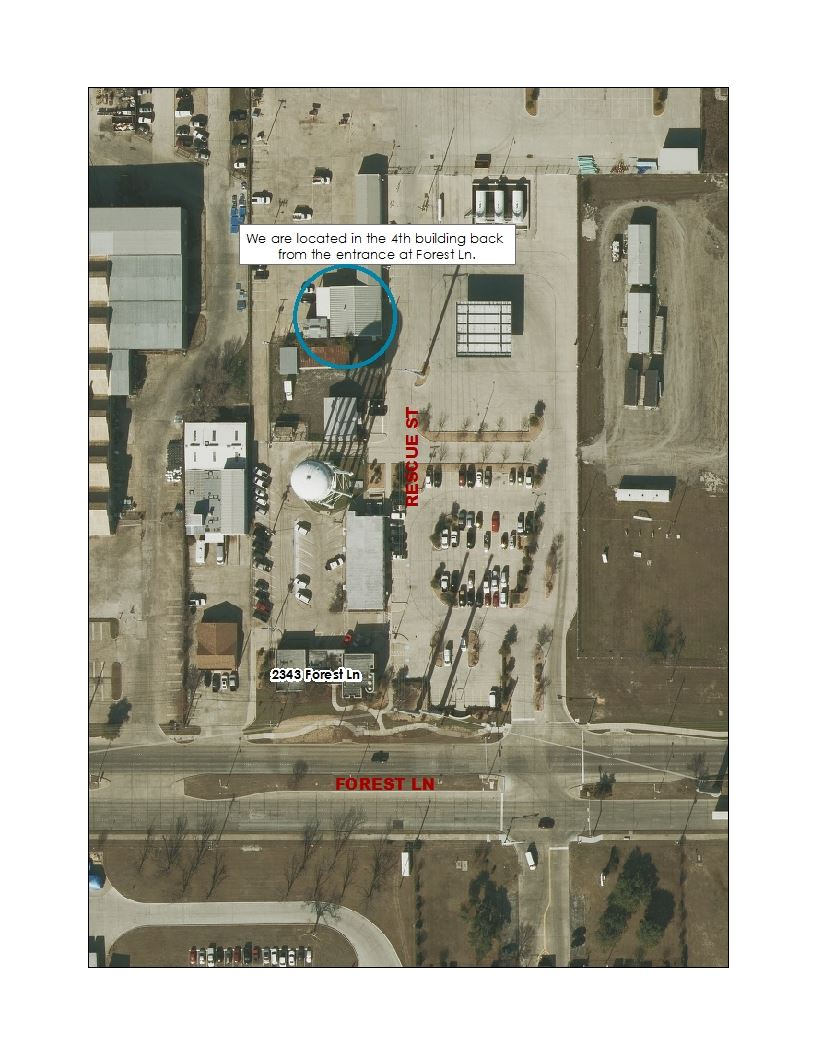 Photo Showing Where the Backflow Office is Located