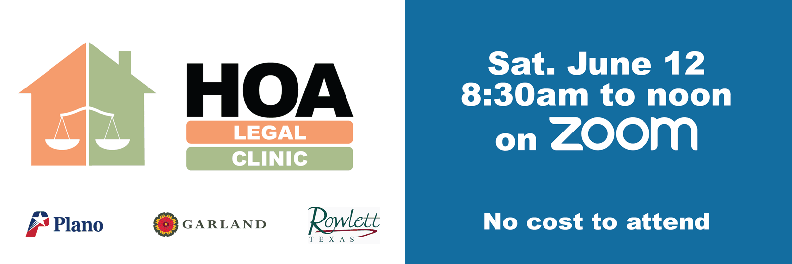 HOA Legal Clinic Graphic 2021 banner