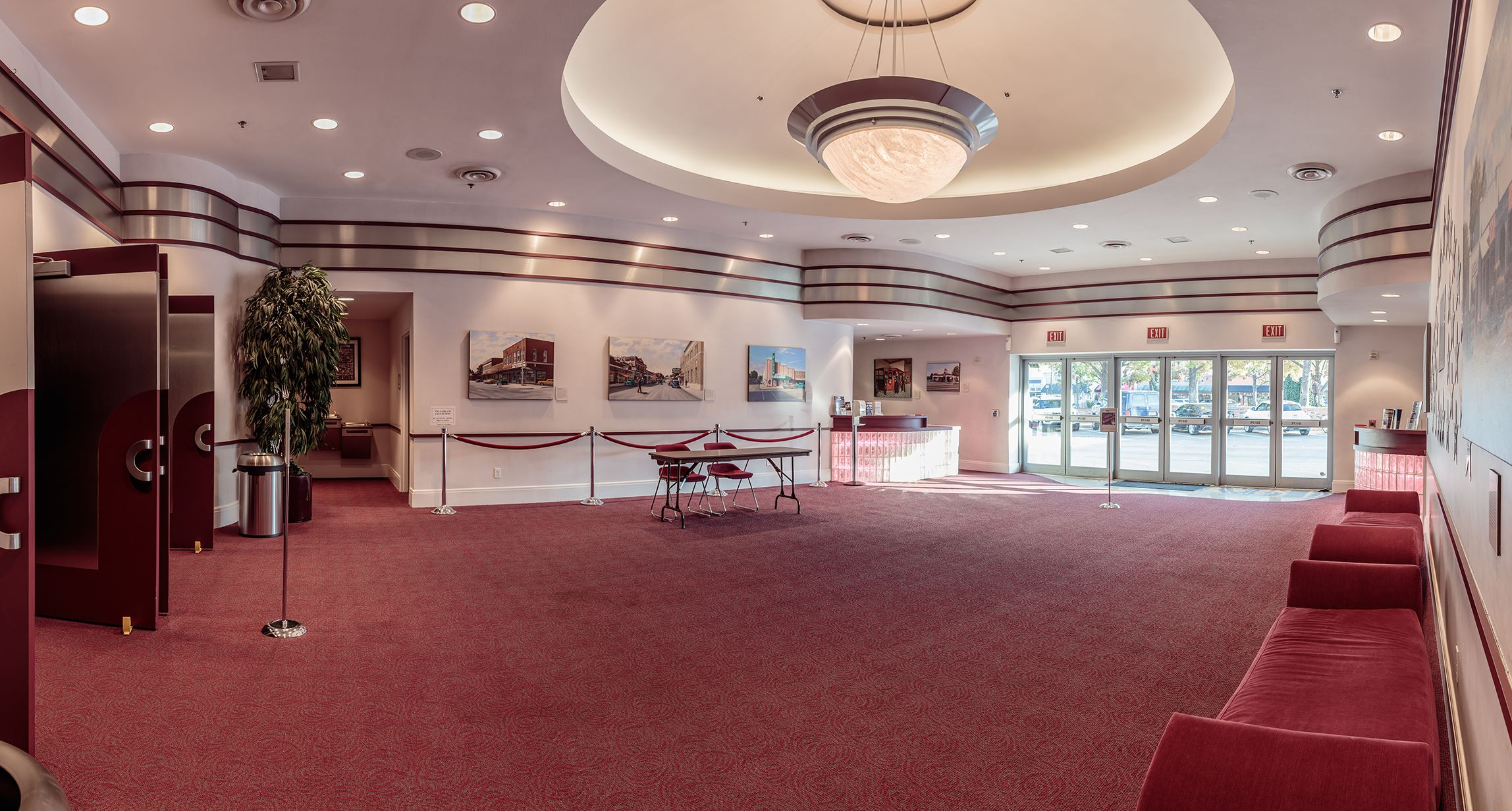The Plaza Theatre lobby
