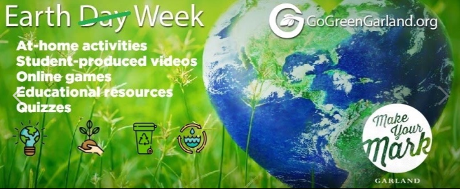 Earth Week graphic